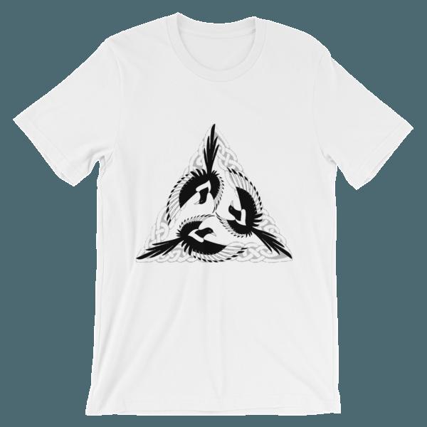 mockup 071918e4 - Celtic Magpies Unisex T-shirt
