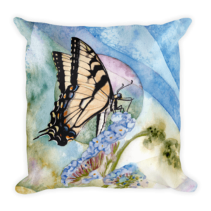Eastern Tiger Swallowtail Cushion