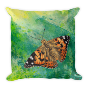 Painted Lady Cushion