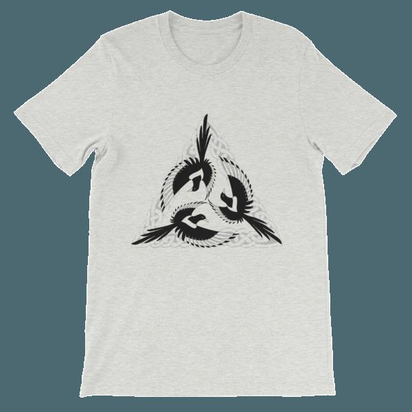 mockup 8396fe66 600x600 - Celtic Magpies Unisex T-shirt