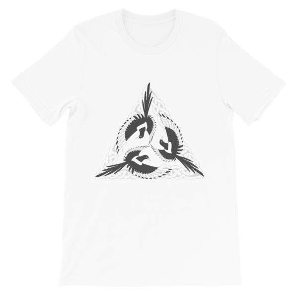 mockup 8b12b8b6 600x600 - Celtic Magpies Unisex T-shirt