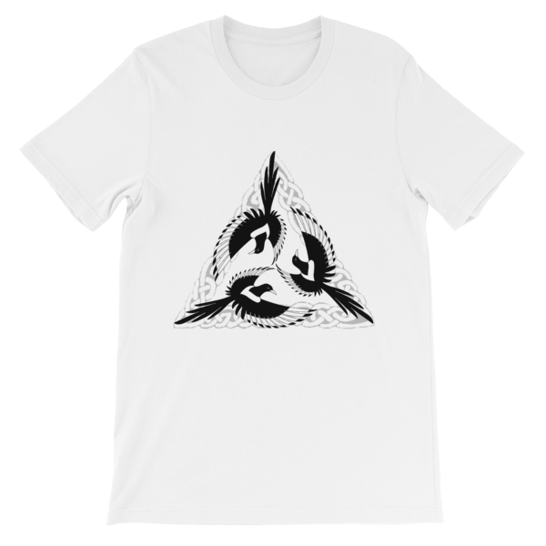mockup 8b12b8b6 - Celtic Magpies Unisex T-shirt