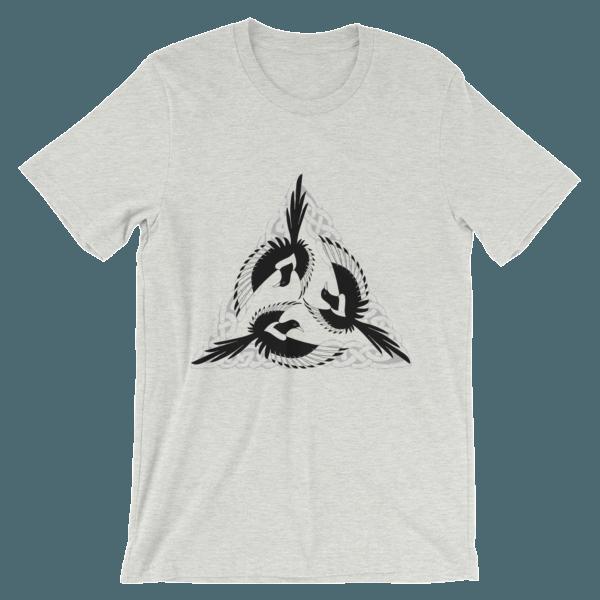 mockup c0beb5b9 600x600 - Celtic Magpies Unisex T-shirt