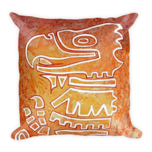 mockup fa4e1e2f 300x300 - Aztec Eagle Cushion