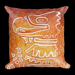 Aztec Eagle Cushion