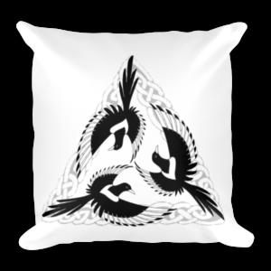 Celtic Magpies Cushion