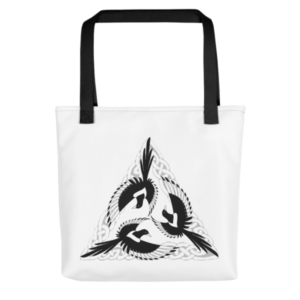 Celtic Magpies Tote bag