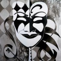 Monochrome Masquerade